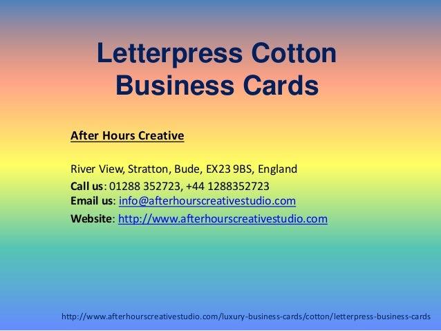 Buy online letterpress cotton business cards services letterpress cotton business cards colourmoves