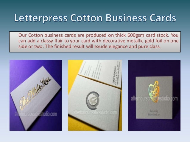 Reasonable letterpress cotton business cards on 450gsm 3 our affordable letterpress business cards reheart Images