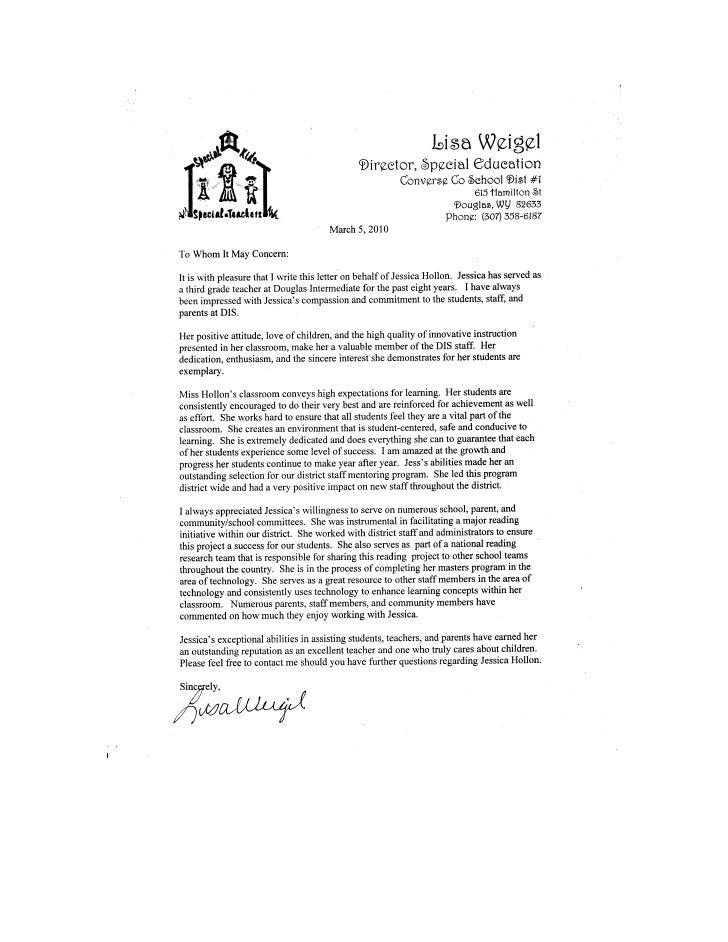 Letter Rec Weigel
