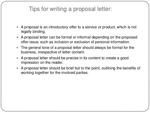 Sample Letter Of Proposal For Product Proposal Cover Letter – Sample Product Proposal Letter