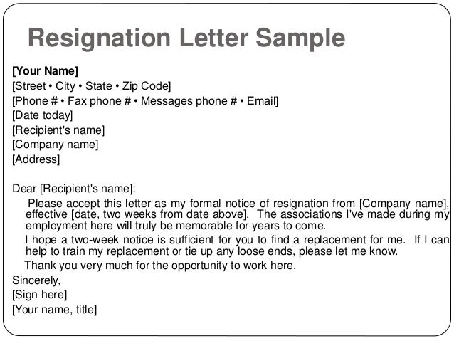 formal resignation letter with immediate effect search results for resignation letter in hd image 21783