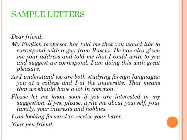 Letter to a good friend sample onweoinnovate letter to a good friend sample letters 2 letter to a good friend sample expocarfo Images