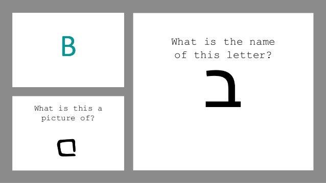 Ancient Hebrew Letters & Sounds