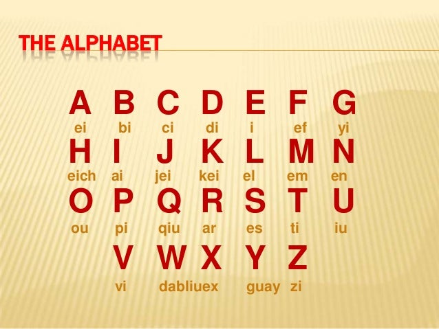 Spell Words With The Following Letters