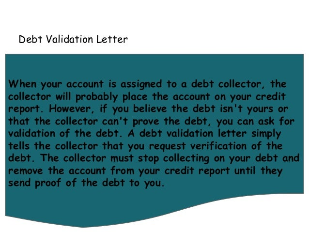 debt validation letter letters you can use to fix your credit 21325 | letters you can use to fix your credit 6 638