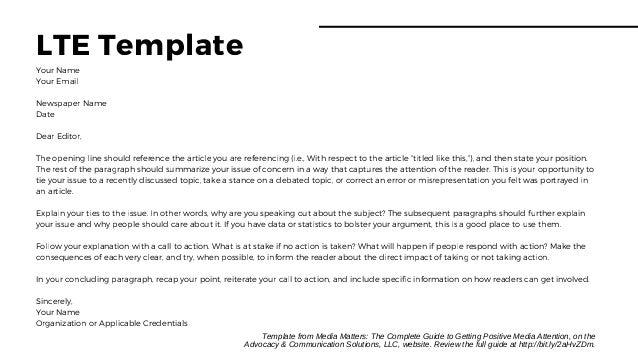 Letter To Editor Template from image.slidesharecdn.com