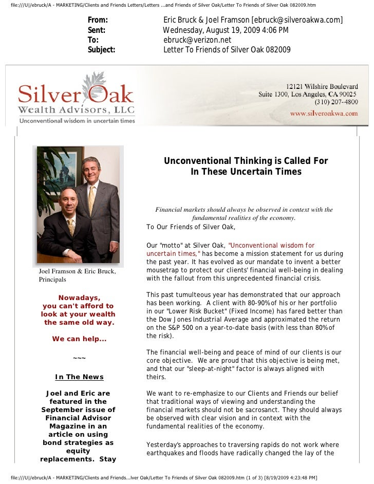 file:///U|/ebruck/A - MARKETING/Clients and Friends Letters/Letters ...and Friends of Silver Oak/Letter To Friends of Silv...