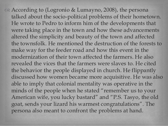 letter to pedro us citizen also called pete tagalog version