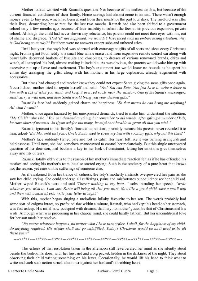 A letter to santa a letter to uncle santa author somil gupta page 2 3 spiritdancerdesigns Images
