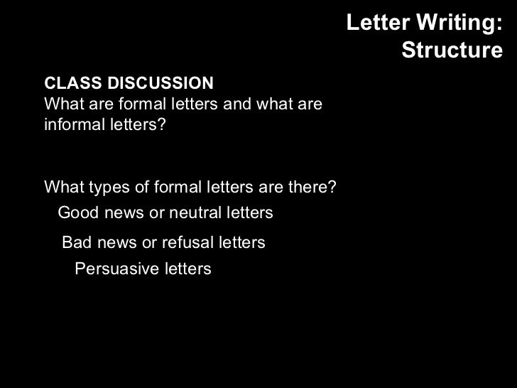 Font For Formal Letter from image.slidesharecdn.com