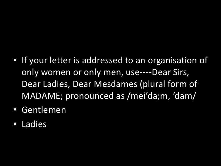 Letter writing gentlemen dear ladies g 16 spiritdancerdesigns Gallery