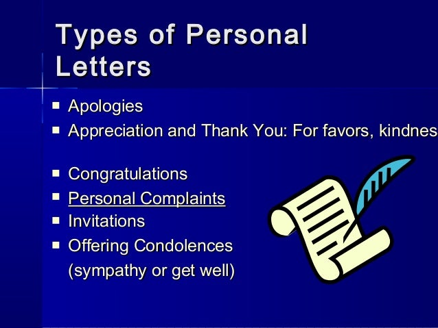 Letterwriting ppt personal legal matters 11 spiritdancerdesigns Gallery