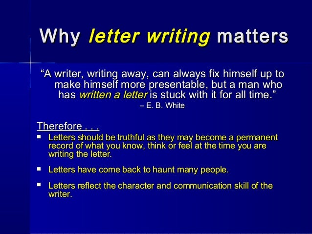 Business letter writing ppt video online download.