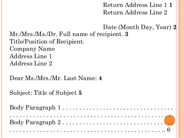 Letter Address Format For Husband And Wife