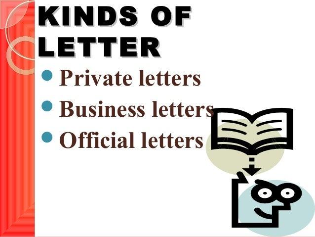 Letter writing Slide 3