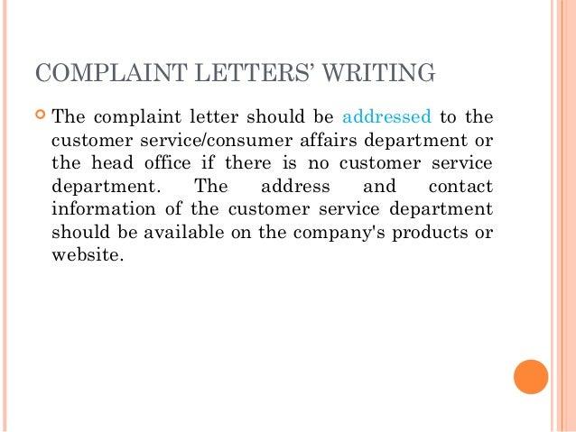 Bus Driver Complaint Letter