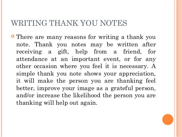 Thank You Messages: Thank You Card Wording Ideas