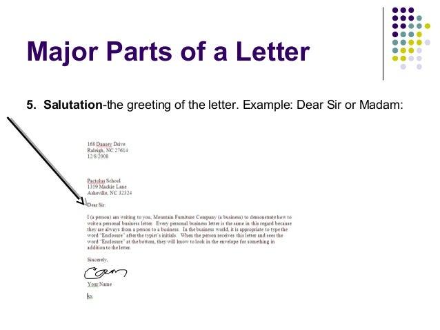 Salutation in letter dolapgnetband salutation in letter business letter writing m4hsunfo