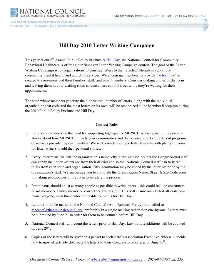 What Is The Purpose Of A Letter Writing Campaign Gandafullring