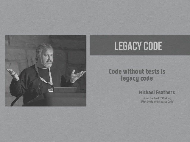 working effectively with legacy code robert c martin pdf
