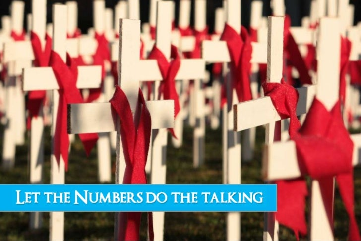 Let The Numbers Do The Talking : HIV AIDS Overview