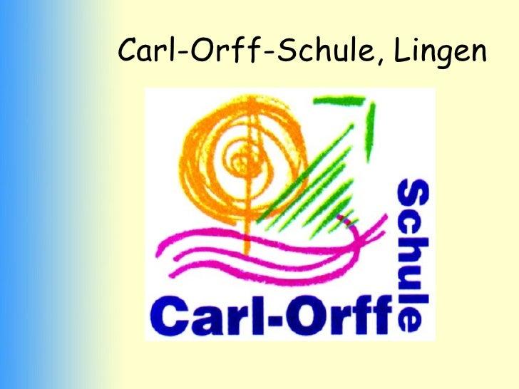 Carl-Orff-Schule, Lingen
