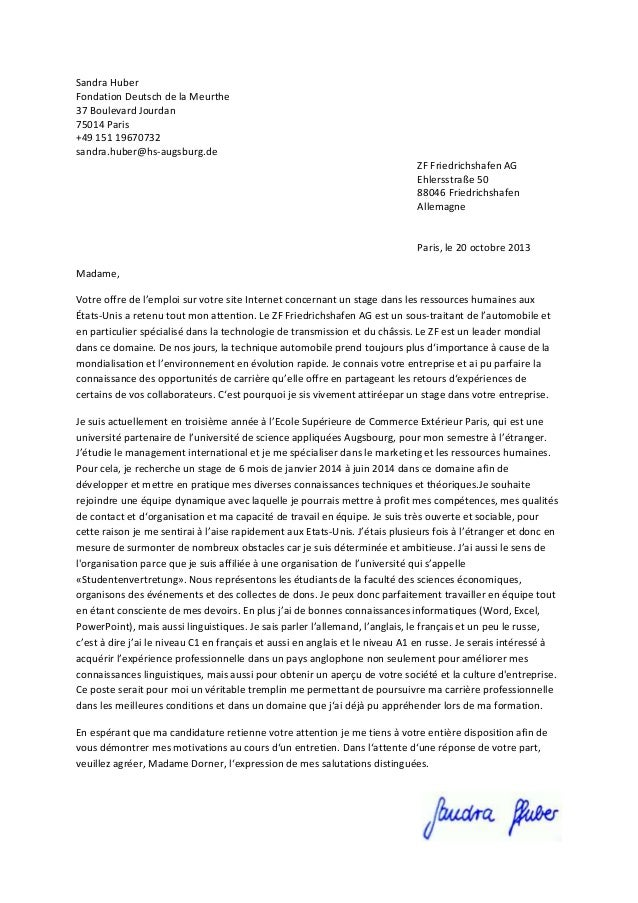 lettre de motivation onu Lettre de motivation lettre de motivation onu