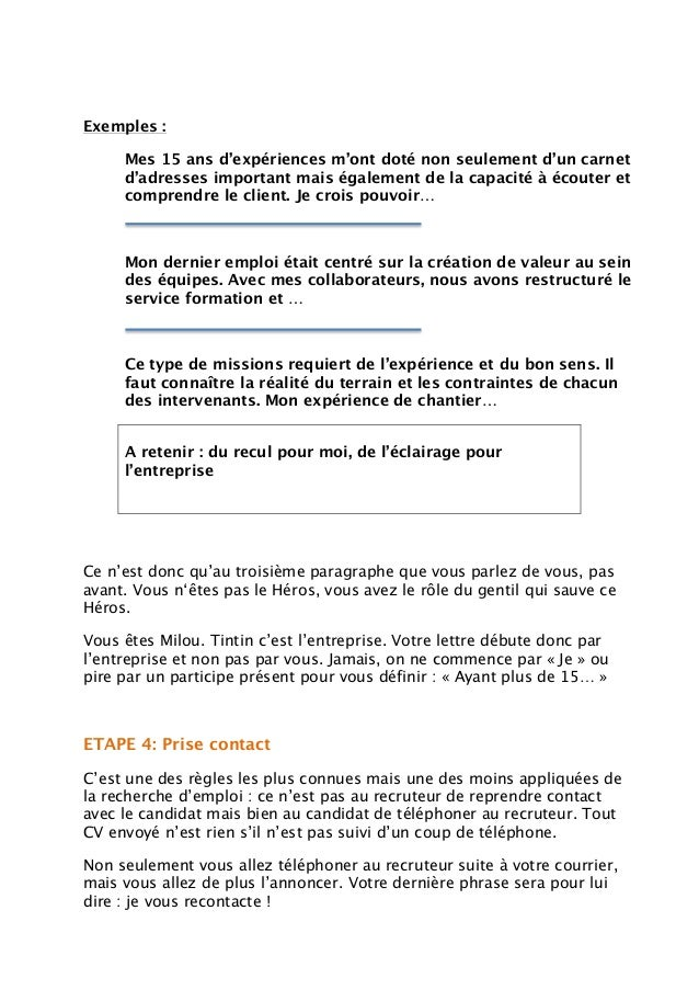 lettre de motivation  u2013 2016