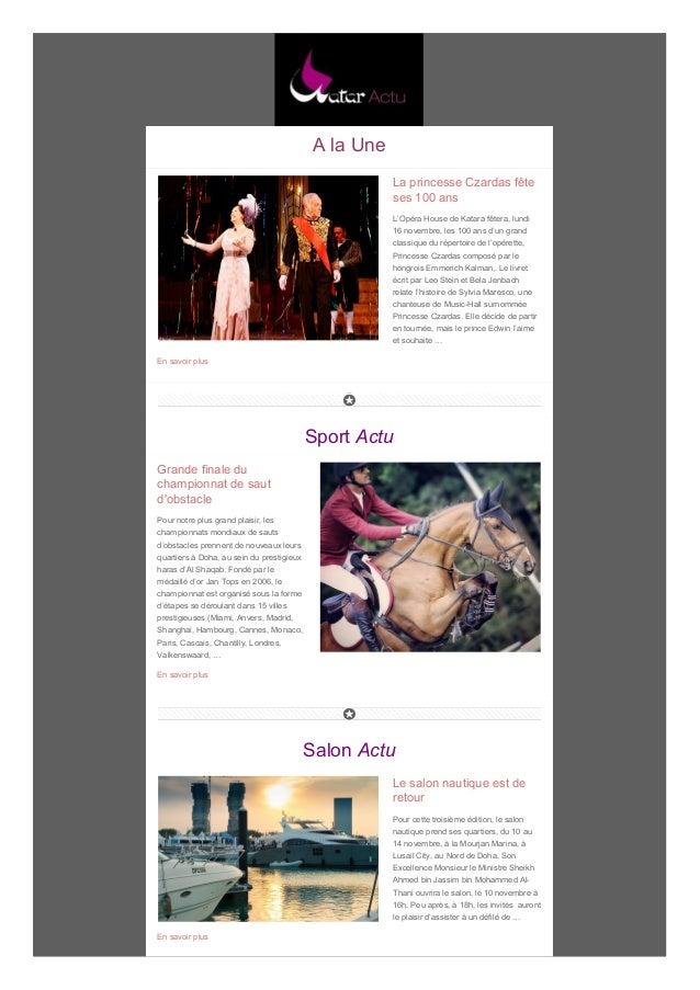 A la Une La princesse Czardas fête ses 100 ans L'Opéra House de Katara fêtera, lundi 16 novembre, les 100 ans d'un grand c...