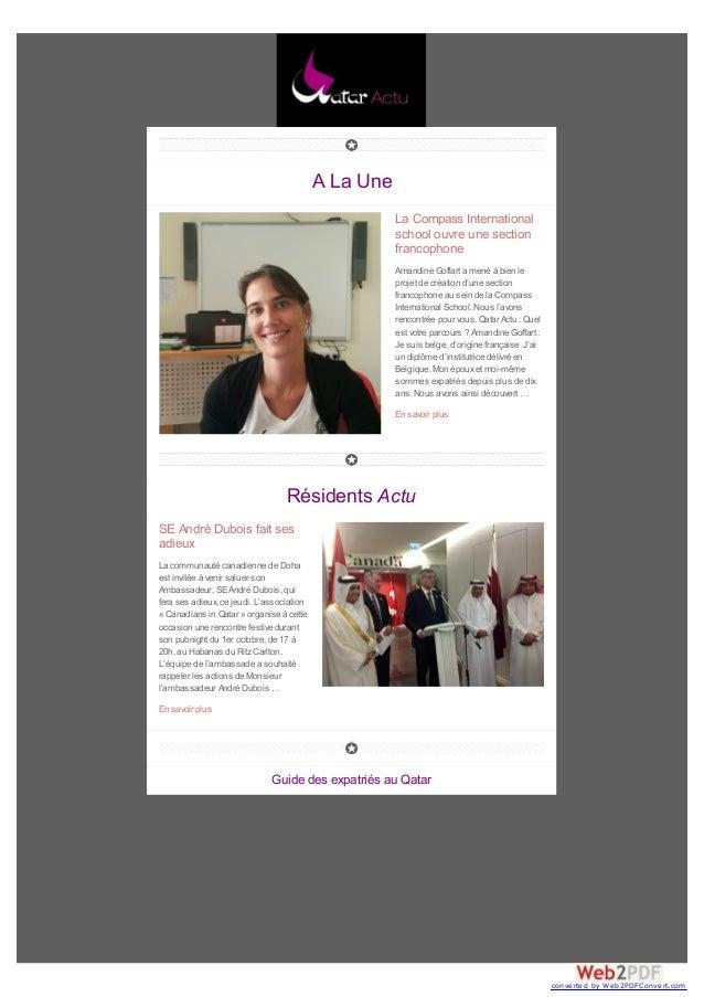 A La Une La Compass International school ouvre une section francophone Amandine Goffart a mené à bien le projet de créatio...