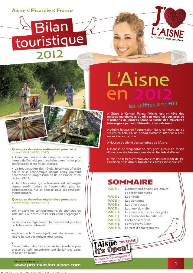 Aisne < Picardie < France Retrouvez-nous sur www.pro-evasion-aisne.com Quelques données nationales pour 2012 (source : DGC...