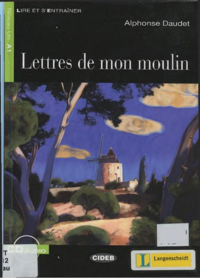 LIRE ET S'ENTRAÎNER Alphonse Daudet Lettres de mon moulin Langenscheidt