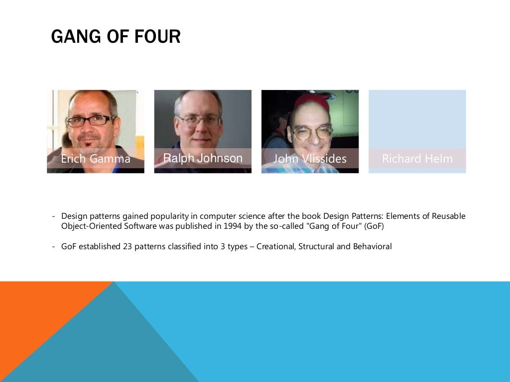 Gang Of 4 Design Patterns Best Design Ideas