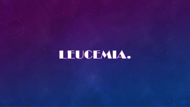 INTRODUCCIÓN.La leucemia es un grupo de enfermedades malignas de la médulaósea (cáncer hematológico ) que provoca un aumen...