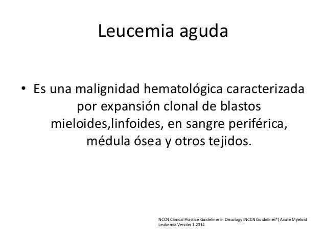 Leucemia aguda Slide 3