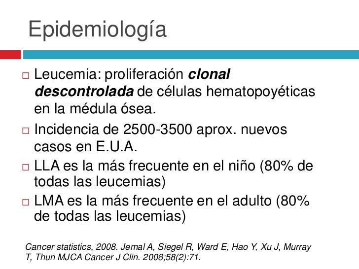 En Chile…   Último registro 1988: 2240 pacientes <15 a.   Incidencia esperada: 4 - 5 casos por 100.000    niños     = 14...