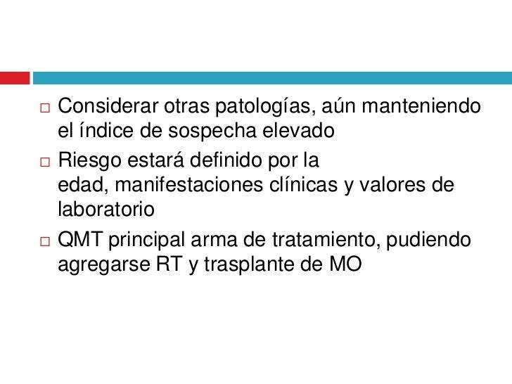 Leucemia en pediatría