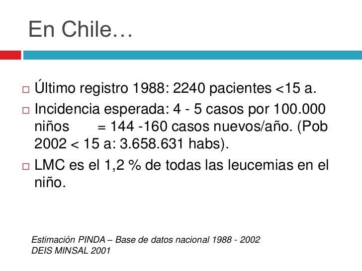 Fisiopatología                    Mutación particular                     regional                      Clon favorecido ...