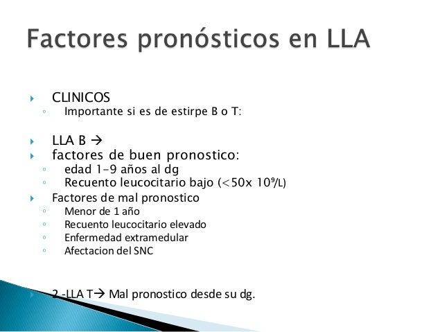  RESPUESTA A TRATAMIENTO  Factor mas importante en LLA  EMR enfermedad mínima residual  menos de 5% de blastos celular...