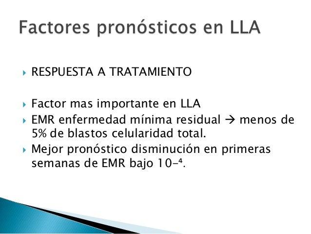  La leucemia requiere el tratamiento más prolongado (2 años)  Debe utilizarse quimioterapias combinadas; razones: ◦ Evit...