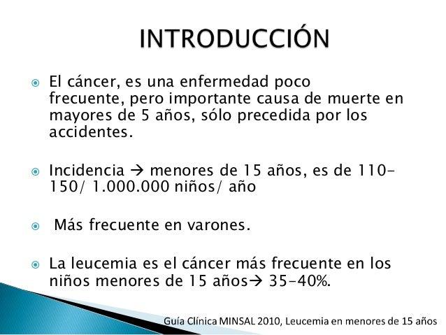 Leucemias pediatria Slide 3