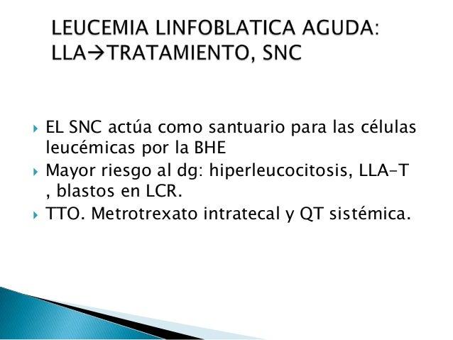  MO con <5% de blastos  Hematopoyesis normal ◦ Hb > 10 gr/dl en lactantes y > 11 gr /dl en preescolares y escolares ◦ Pl...