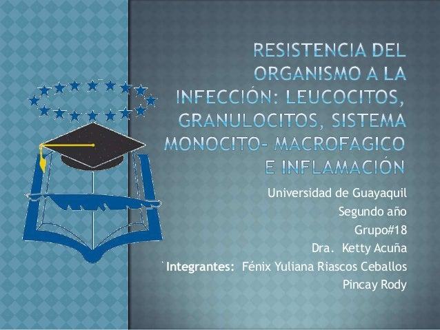 Universidad de Guayaquil Segundo año Grupo#18 Dra. Ketty Acuña Integrantes: Fénix Yuliana Riascos Ceballos Pincay Rody