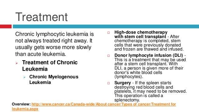 Lymphocytic Leukemia Natural Treatment