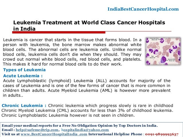 an analysis of the leukemia as a cancer of the blood system Lymphoma is a cancer of white blood cells that arises in the lymphatic system types of lymphoma hodgkin's lymphoma frequently develops from b-cells, but may also develop from t-cells.