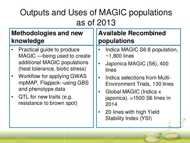 Summary and Future Work Phenotyping , QTL mapping Genetic basis of transgressive segregation Recombination questions: LD d...