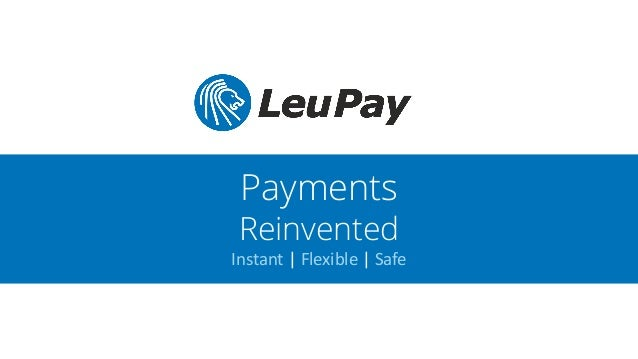 Leupay Online Payments Money Transfers Reinvented