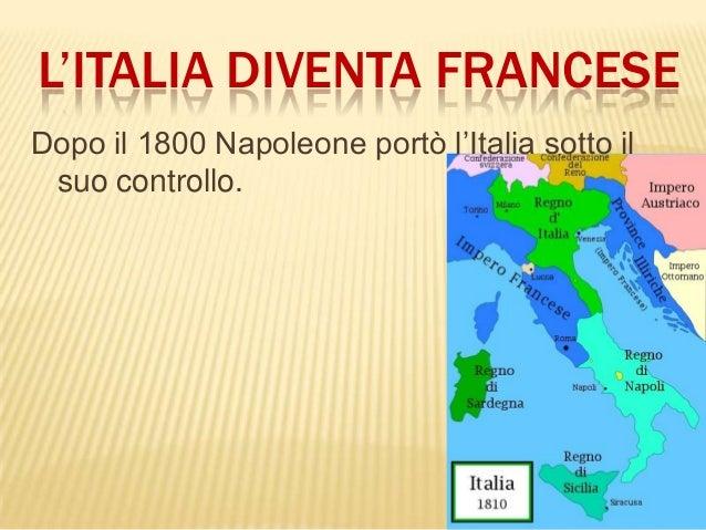 Cartina Italia 1810.L Europa Sotto Napoleone