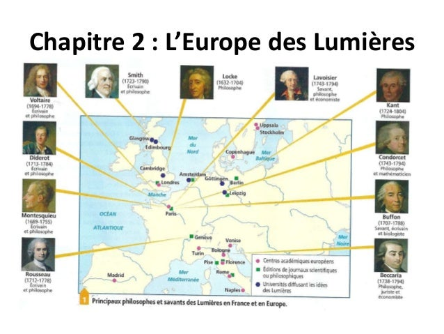 Chapitre 2 : L'Europe des Lumières