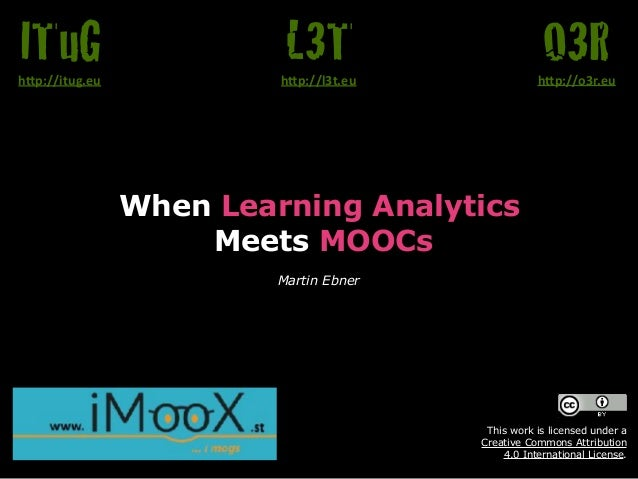 When Learning Analytics